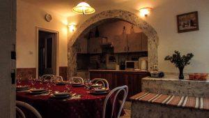 Vendég-lak - étkező és konyha