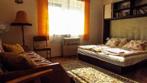 a Vendég-lak második szobája 3 ággyal
